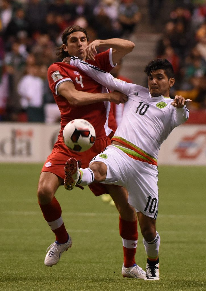 Canada's National Team vs Mexico play in 2018 FIFA World Cup Russia, qualifier action at BC Place Stadium in Vancouver on March 25, 2016.