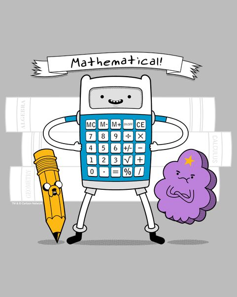 Mathematical Time T-Shirt ~ $10 Adventure Time tee at ShirtPunch today only!