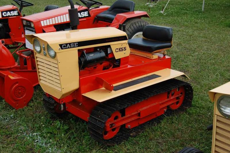 Case garden tractor crawler trac 39 s pinterest gardens for Garden machinery for sale