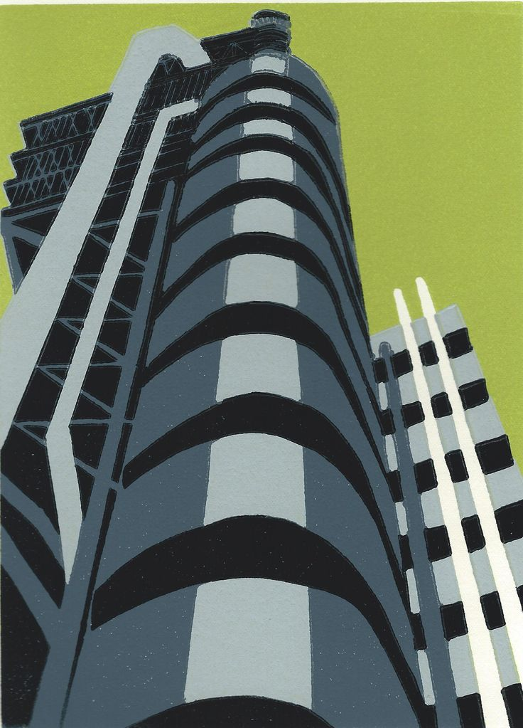 Jennie Ing | Lloyds | #art | #london | #print