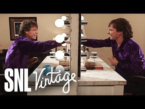 Mick is Pointing, Pointing, Pointing at Himself - SNL - YouTube