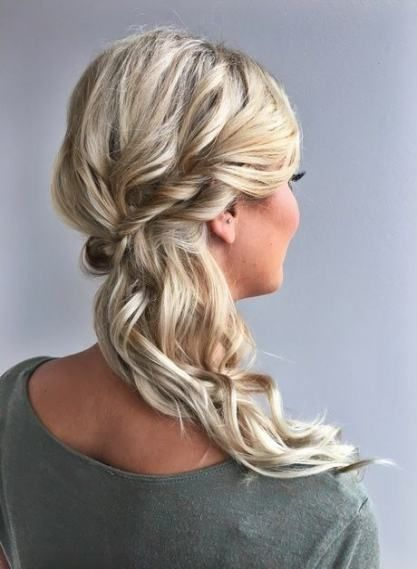 25 new ideas for bridal party hairstyles side bridesmaid
