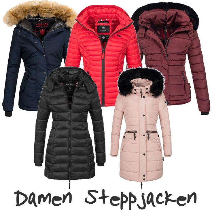 10 Damen-Steppjacken – Winterjacken von Marikoo, Navahoo #jacke #winter #style #outfit #navahoo #naketano