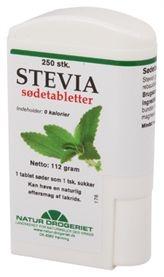Stevia Sødetabletter i dispenser 250 stk