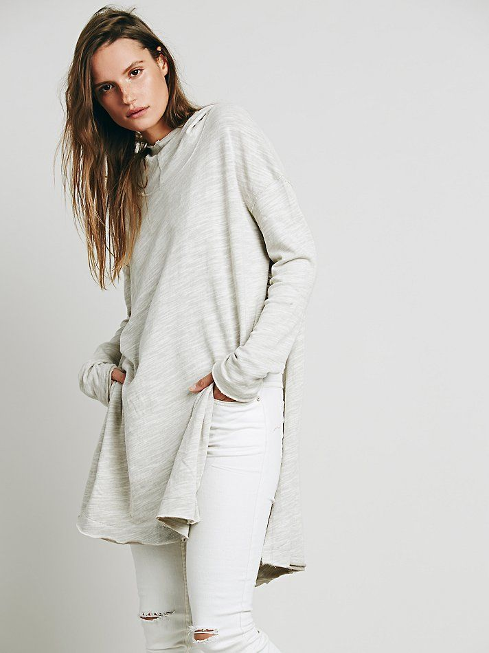 Free People In A Hurry Hoodie, $88.00 oatmeal only