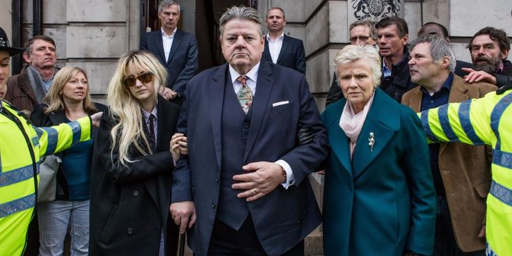 Robbie Coltrane, Julie Walters and Andrea Riseborough in National Treasure (2)