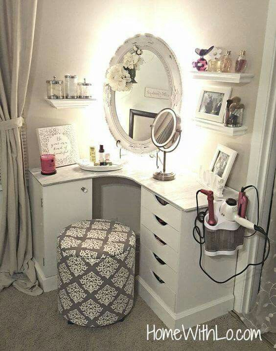 Die besten 25+ Badezimmer Schminktisch Dekor Ideen auf Pinterest - schminktisch ideen aufbewahrung