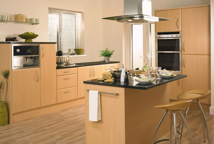 Enhance your kitchen appearance with Geneva beech design