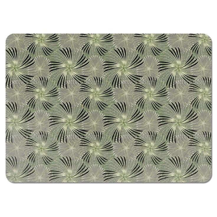 Uneekee Turning Wheels Grey Placemats (Set of 4) (Turning Wheels Grey Placemat) (Polyester)
