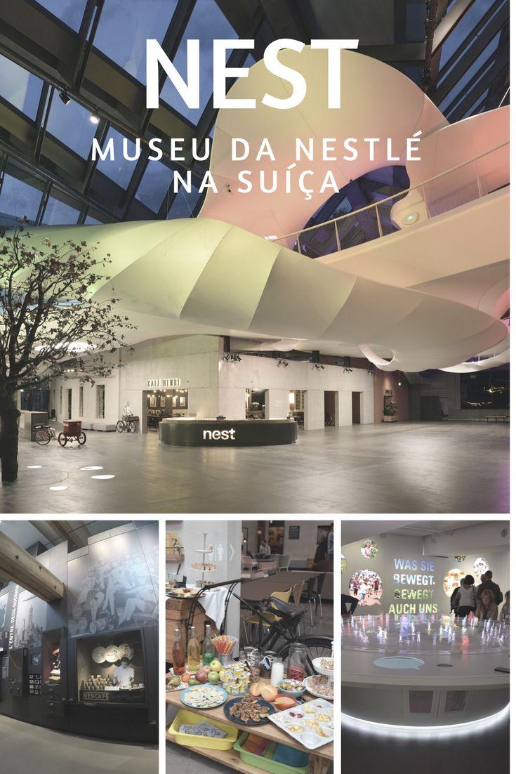 Brunch e visita ao Nest, o museu da Nestlé em Vevey, na Suíça. Um museu interativo e cheio de boas surpresas.