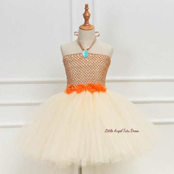 Moana Inspired Tutu Dress. Birthday Party. Moana Tutu.