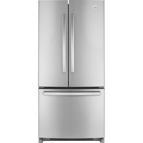 French Kitchen Appliances: Whirlpool French Door Stainless Steel Refrigerator