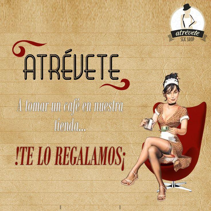 #Sexshop #Sevilla #SevillaEste Atrévete a pasar por nuestra tienda y disfrutar de un #Café en el ambiente más erótico y bohemio. www.atreveteshop.es