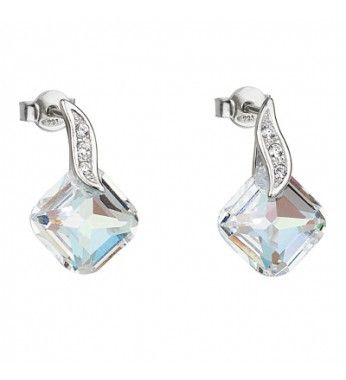 PRECIOSA Hõbe kõrvarõngad Ag925/Rh668942 Crystal AB FEMININE CHARM STYLE.  PRECIOSA Tõelised Sterling hõbe kõrvarõngad Ag925/Rh668942 Crystal AB FEMININE CHARM STYLE Silver Elegance.  PRECIOSA Jewellery Silver Elegance is distinguished by its inimitable brilliance and precise facets. As is suggested by the name, the natural elegance of the crystal is emphasised by 925 silver in combination with rhodium, which gives every piece of jewellery a luxurious appearance. Silver Elegance has been…