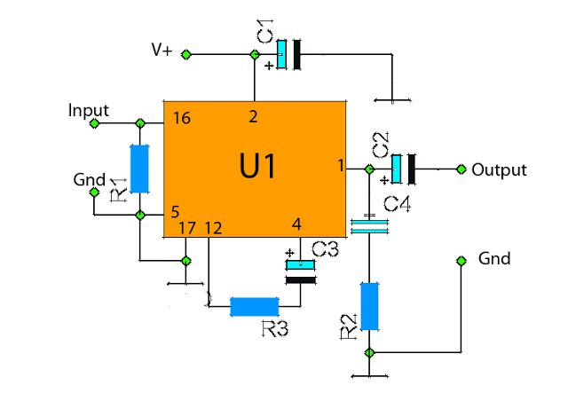 The Ic La4440 Was Very Useful And Easy To Use It As An Amplifier Diy