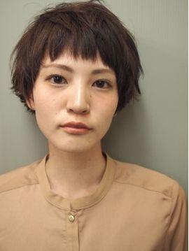 ショートマッシュボブの髪型・ヘアスタイルカタログ詳細 | ビューティーパーク