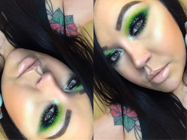"4,444 Me gusta, 4 comentarios - Shannon 💋 (@shanmacmua) en Instagram: ""Happy St.Patricks Day 🍀🍻🌈✨ @maccosmetics •Emerald Glitter •Bottle Green Eyeshadow •Fleshpot…"""
