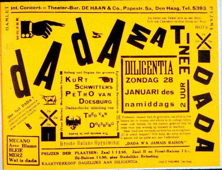 Dadaism - Kurt Schwitters, 1923