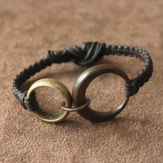 Earthy Macrame Bracelet with Antique African by losttribedesigns, $39.00