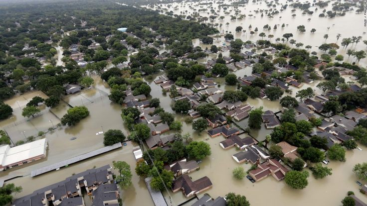 While countless Houstonians are still waiting for rescue, Tropical Storm Harvey has inundated Port Arthur, Texas.