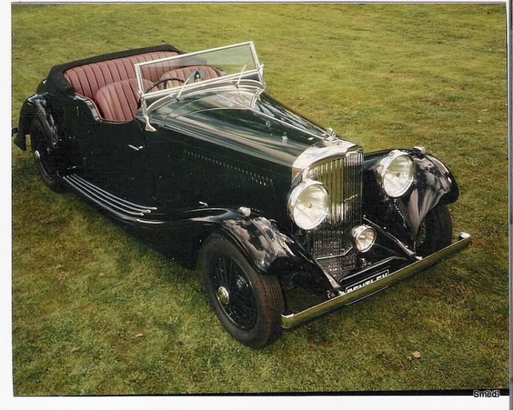 The completed bodywork for the '34 Bentley