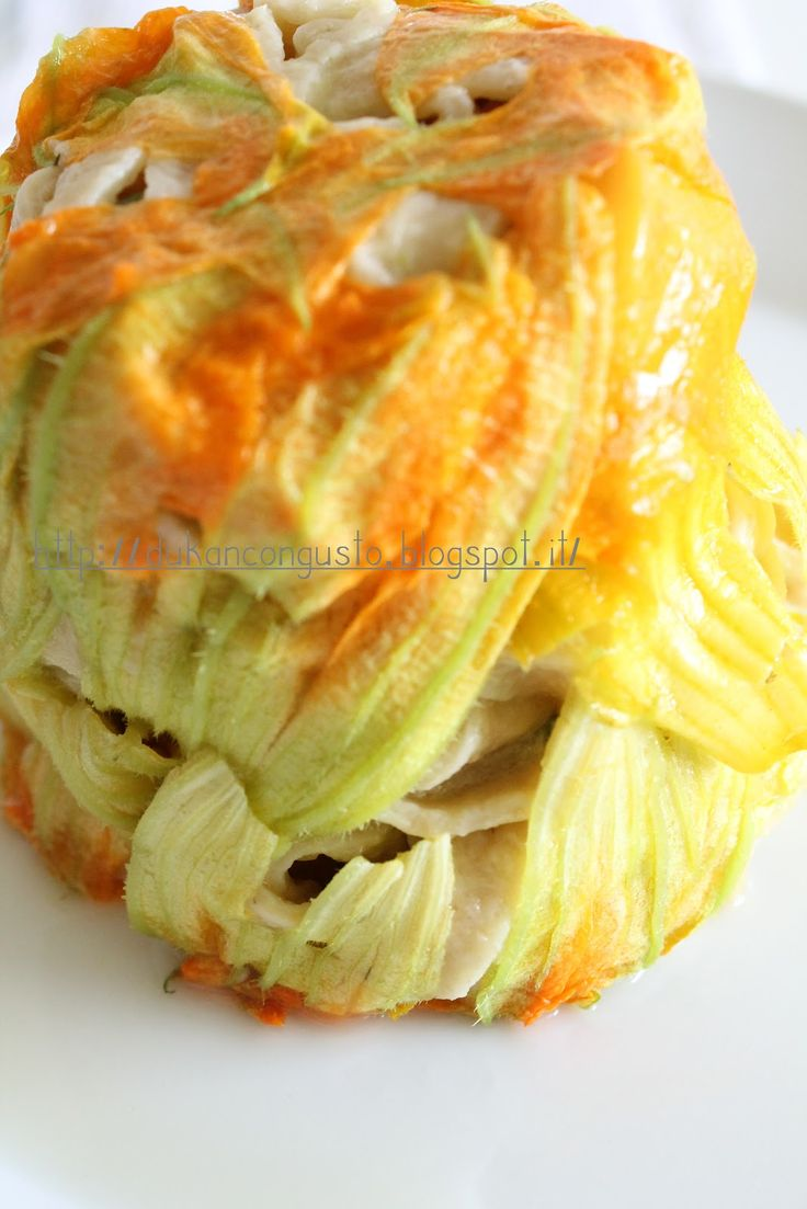 tagliatelle zucchine e fiori dukan