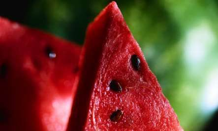 Health Benefits of Watermelon:  1. Watermelon is extremely alkaline-forming in the body.  2. Watermelon is the lycopene leader among fresh fruits and vegetables.  3. Watermelon may have a Viagra-like effect.  4. Watermelon is a natural diuretic.  5. Watermelon is a very good source of potassium.