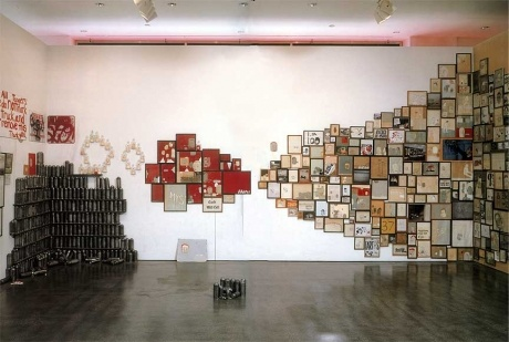 Barry McGee - installation at UCLA/Armand Hammer Museum in Los Angeles