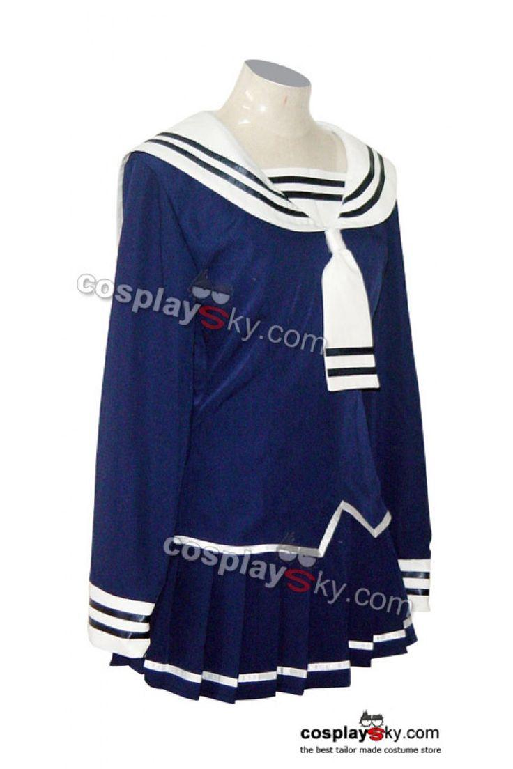 Fruits Basket Tohru Honda Cosplay Navy Costume 2-1