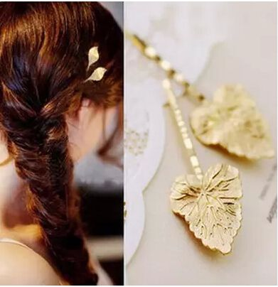 Hot Fashion Wedding Hair Accessories Olive Branches Leaves Beautiful Bride…