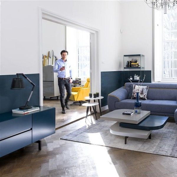 Xooon Meuble Tv Bleu Petrol Lurano 175cm Xooonledesignenfinaccessible Furniture Home Decor Home