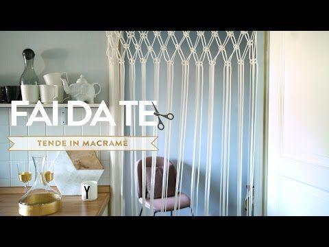 La guida per confezionare tende macramè fatte in casa | Dalani