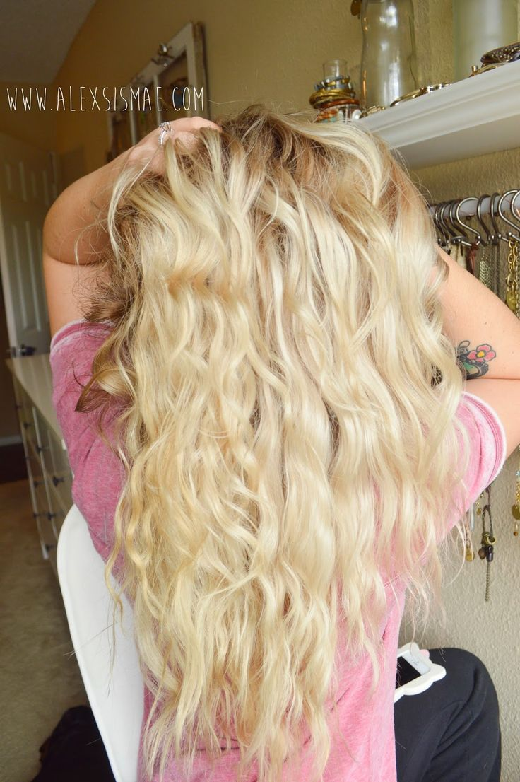 Alexsis Mae : Natural Overnight Beach Waves | NO HEAT REQUIRED