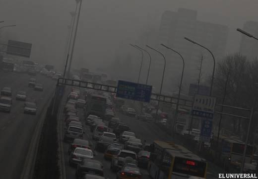 La contaminación atmosférica en Pekín llega a niveles graves - Internacional - EL UNIVERSAL