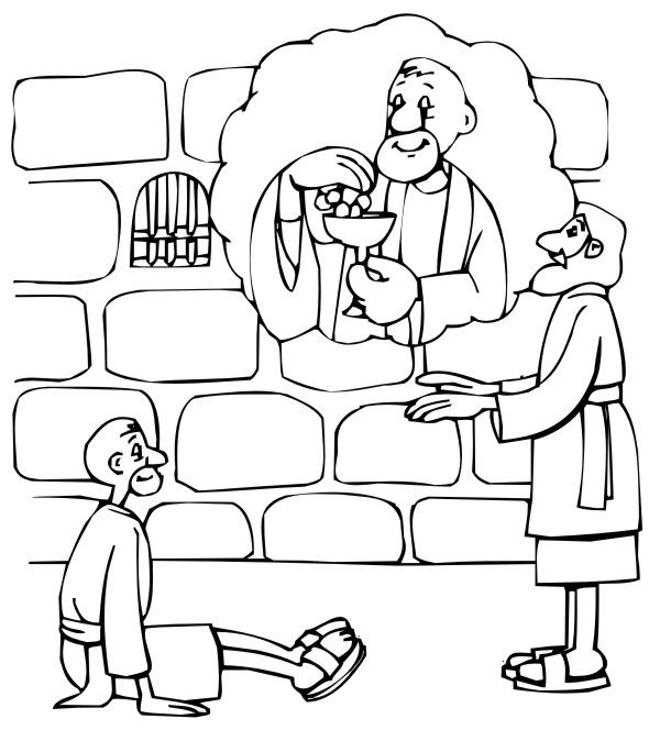 josephs dream coloring pages - photo#26