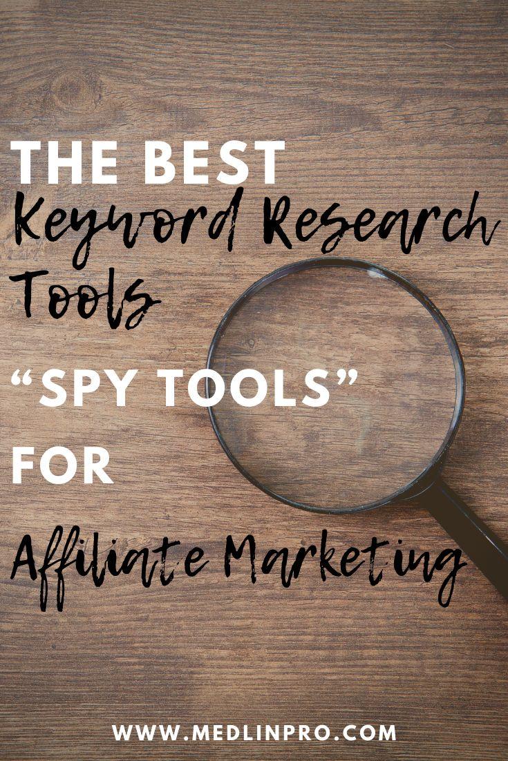 Keyword-Recherche-Tools für SEO. Keyword-Spionage ist nur eine andere Form von Keyword (…