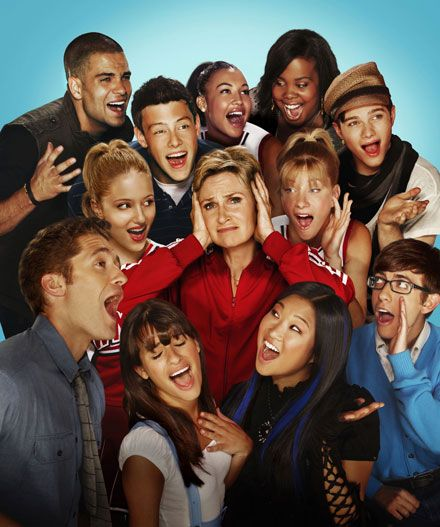 Glee cast (May 19, 2009 – my favorite picture of the cast) I love every single one of them they are amazing people <33