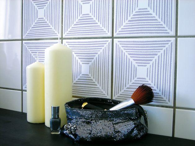 ber ideen zu geometrische fliesen auf pinterest. Black Bedroom Furniture Sets. Home Design Ideas