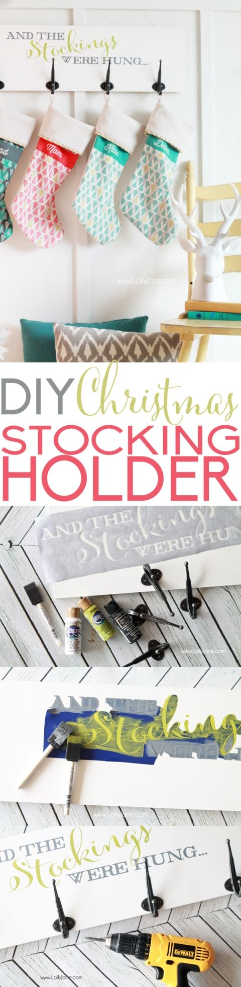 the 25 best stocking hangers for mantle ideas on pinterest
