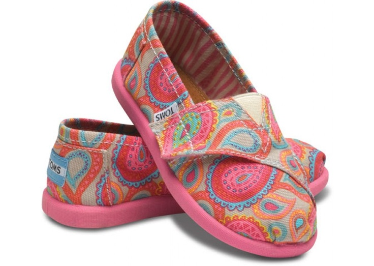 Paisley Toms!! time to get these for A