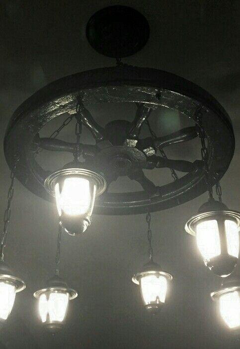 13 best ships wheel chandelier images on pinterest chandelier ships wheel chandelier aloadofball Choice Image