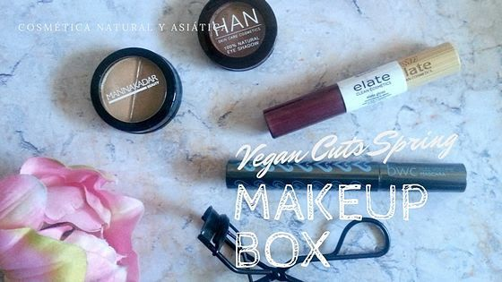 Spring Vegan Cuts Makeup Box  maquillaje maquillaje vegano