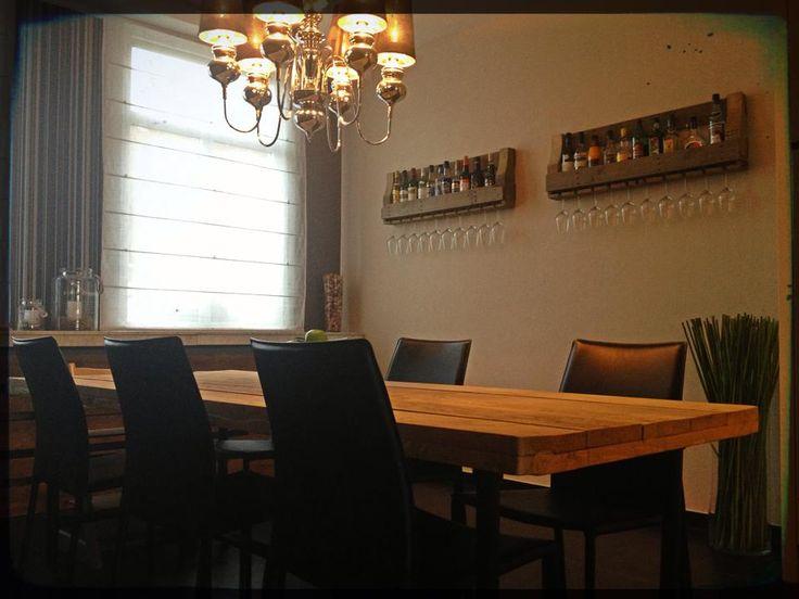 Op maat gemaakte wijnrekken! Bestel ze op http://alshetmaarvanhoutis.nl/product/houten-wijnrek-pinot-noir/