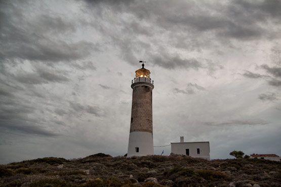 Lighthouse kithira greece 2009