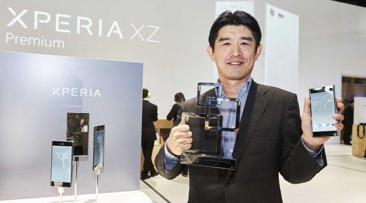 "Sony Xperia XZ Premium named ""Best New Mobile Handset"""