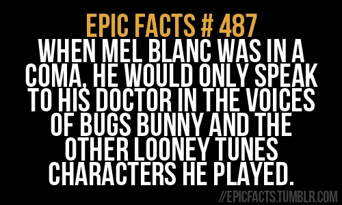 Dear Epic Facts #487: how does a man in a coma speak at all?