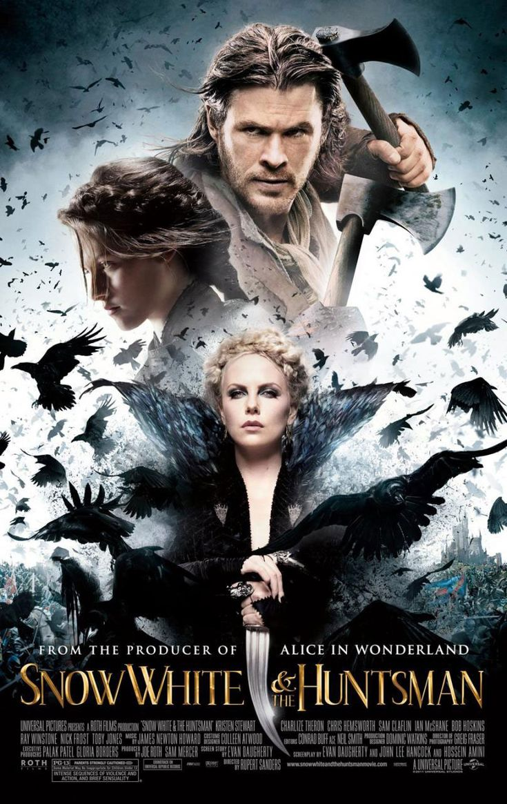 Snow White and the Huntsman / Blanche-Neige et le chasseur - 2012 - directed by : Rupert Sanders - cast : Kristen Stewart, Chris Hemsworth, Charlize Theron, Sam Claflin, Sam Spruell, Ian McShane, Bob Hoskins, Ray Winstone, Nick Frost, Eddie Marsan, Toby Jones, Johnny Harris, Brian Gleeson, Vincent Regan, Lily Cole