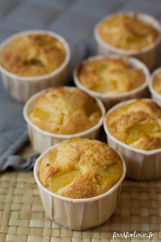 Muffins Ananas et Noix de Coco (Sans Beurre) - Food for Love                                                                                                                                                                                 Plus