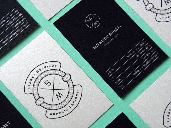 Unique Business Card, Melnikov Sergey #BusinessCards #Design (http://www.pinterest.com/aldenchong/)