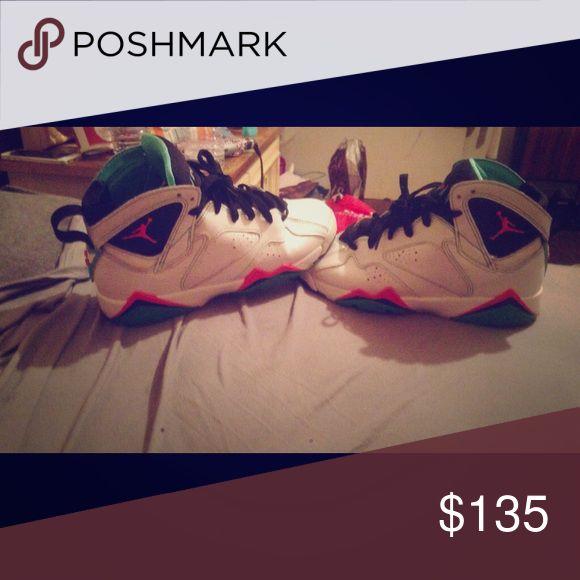 jordan 7 8/10 condition, size 5.5, no box, $135 or best offer. Jordan Shoes Athletic Shoes